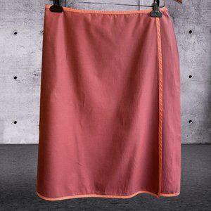 Banana Republic A-Line Wrap Around Skirt Size 6